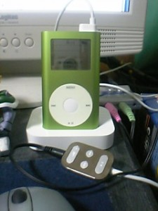 iPod mini Dock + iPod リモコン