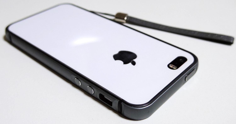 72901c9ed9 iPhone SE バンパー フルエンシア グレー / ESR – 無駄遣いの記録