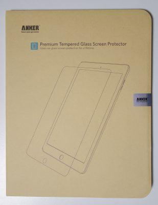 Anker GlassGuard iPad Pro 9.7インチ用 強化ガラス液晶保護フィルム
