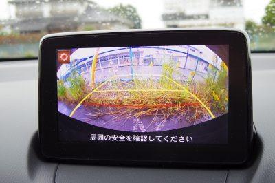 マツダ デミオ(DJ) バックモニター(Panasonic)