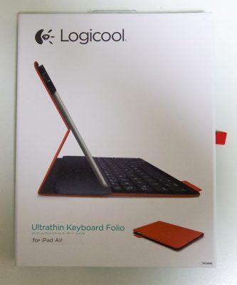 Logicool ウルトラスリム キーボード フォリオ for iPad Air (TF725SERD)