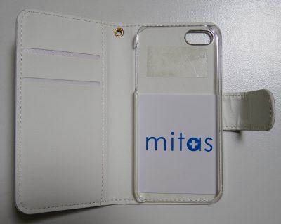 手帳型iPhoneケース mitas ネイティブ エスニック アニマル A