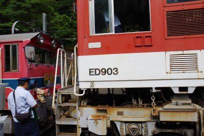 アプト式機関車 ED903