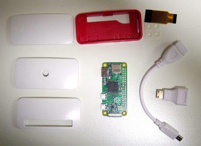 Raspberry Pi Zero v1.3 ケースキット