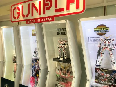 THE GUNDAM BASE TOKYO POP-UP in UTSUNOMIYA