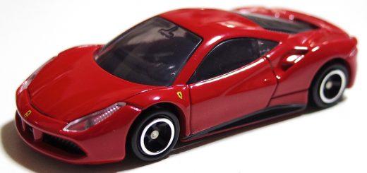 トミカ No.64 フェラーリ 488 GTB