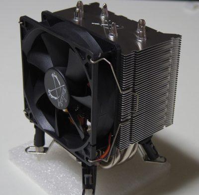 サイズ CPUファン 白虎