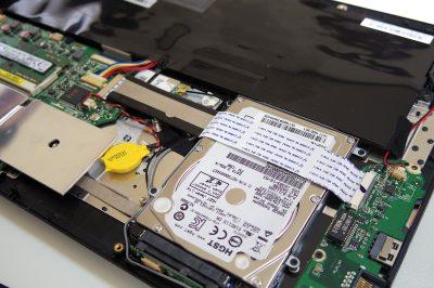 ノートパソコン ONKYO R6A のSSD換装