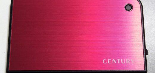 CENTURY 2.5インチHDD/SSDケース CMB25U3RD6G