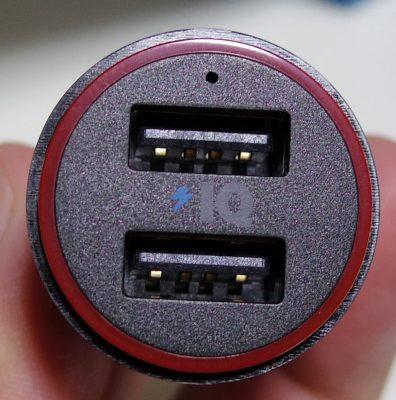 Anker PowerDrive 2 (24W/4.8A 2ポート USBカーチャージャー)