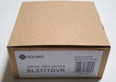デンソーソリューション SOLING ドライブレコーダー SL3117DVR
