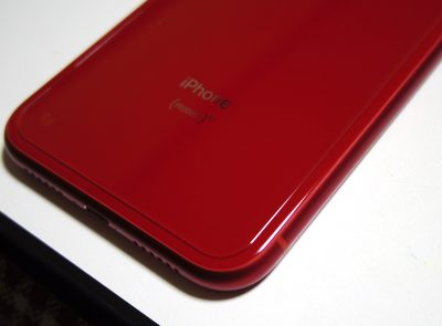 QULLOO iphone XR 6.1 背面 専用ガラスフィルム