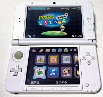 Nintendo 3DS + とびだせどうぶつの森