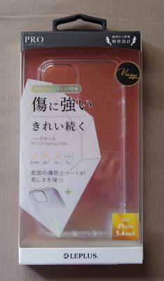 ビアッジ iPhone 12 mini ハードケース「CLEAR Hard+」 クリア