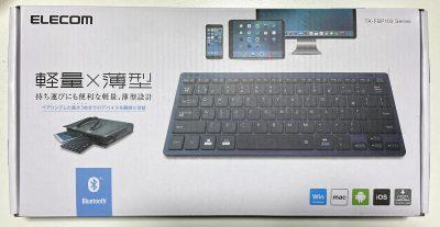 Bluetoothミニキーボード - TK-FBP102BU - エレコム