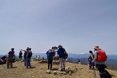入笠山 山頂